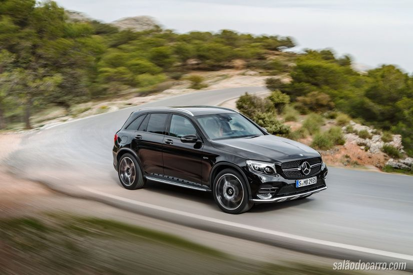 Mercedes-Benz divulga esboço do GLC Coupé 43 AMG