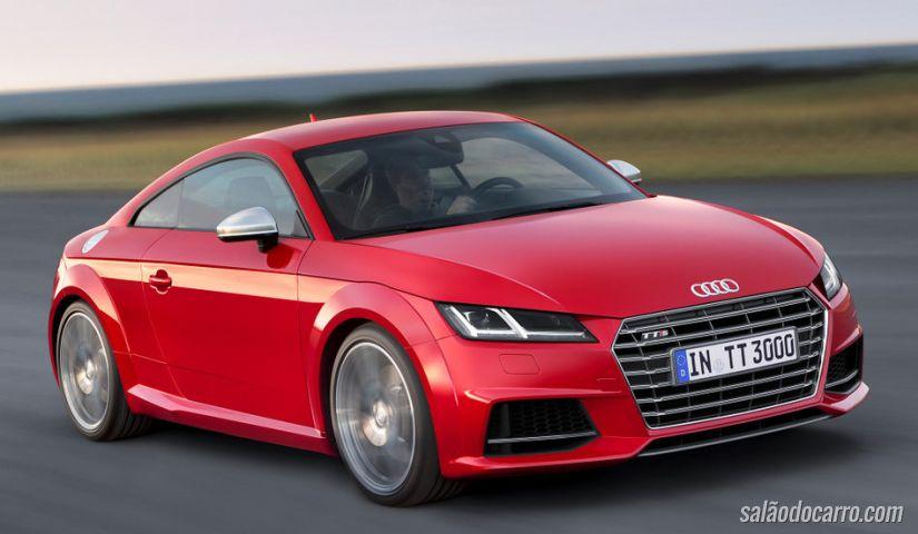 Audi TTS Coupé chega ao Brasil
