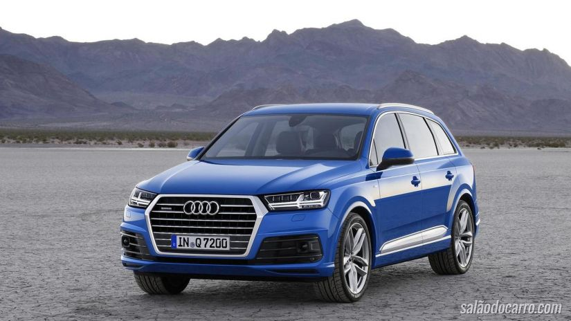 Audi SQ7 2017 ganha motor 4.0 litros
