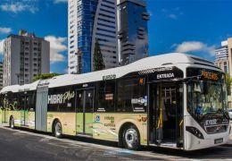 Volvo testa em Curitiba ônibus articulado híbrido