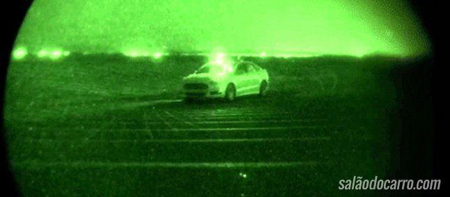 Ford testa veículos autônomos no escuro