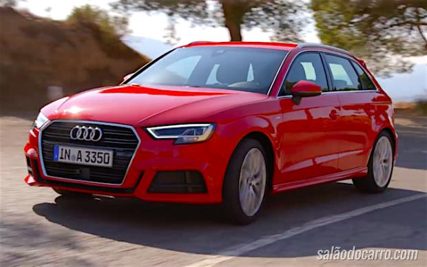 Audi libera vídeo do novo A3 2016