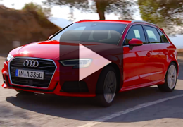 Audi libera vídeo do novo A3 2016