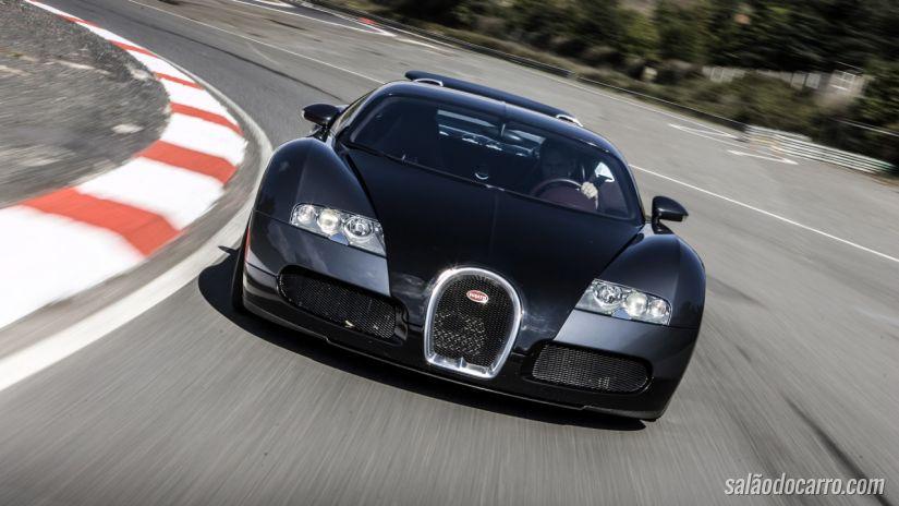 Bugatti Veyron sofre recall nos Estados Unidos