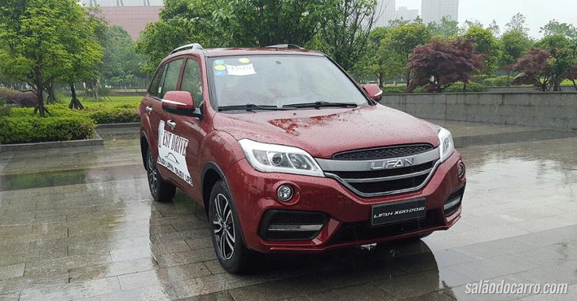Lifan X60 ganha câmbio automático CVT