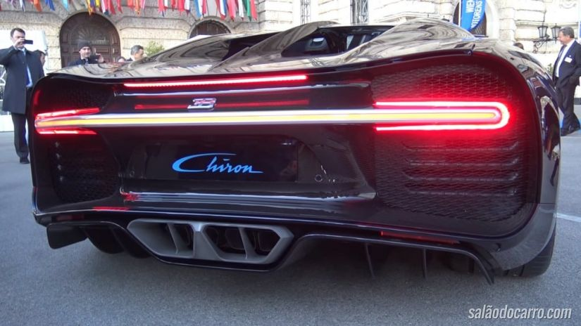 Confira o som do motor 8.0 W16 quad-turbo do Bugatti Chiron