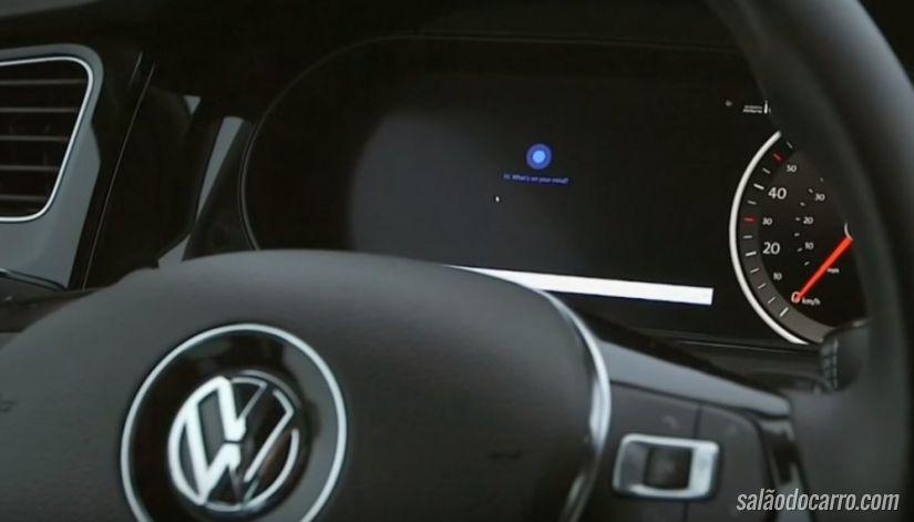 Carro autônomo da Microsoft aparece em vídeo