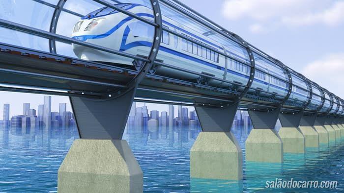 Confira o primeiro teste de novo sistema de transporte de pessoas por tubos
