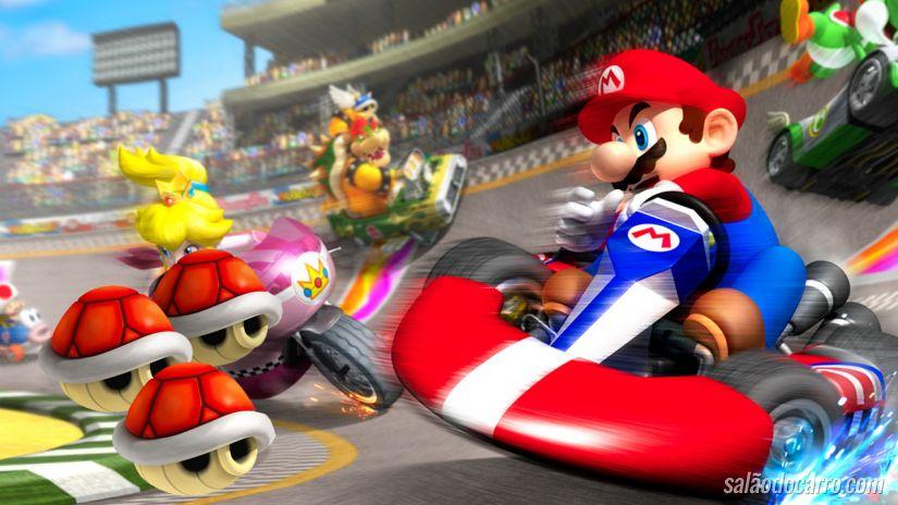 Estudantes criam Mario Kart da vida real