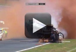 Filho de Nelson Piquet sobre acidente grave na Fórmula 3