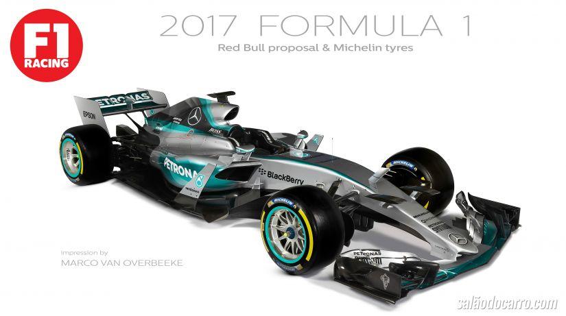 Confira as mudanças dos carros de F1 para a temporada de 2017