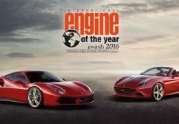 Ferrari ganha troféu Engine of the Year