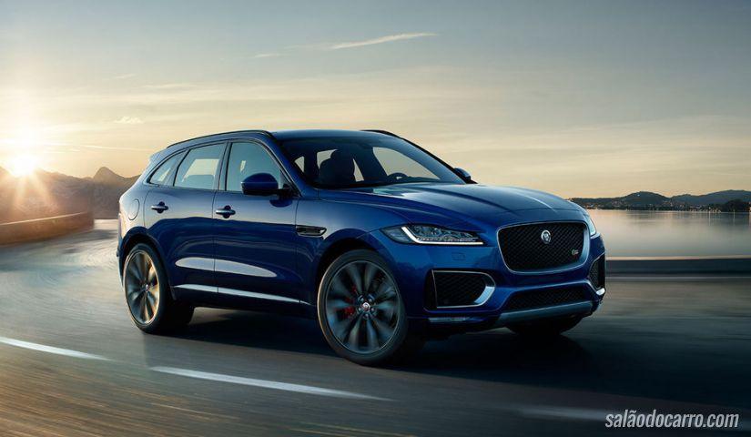 Jaguar F-Pace já pode ser adquirido em pré-venda