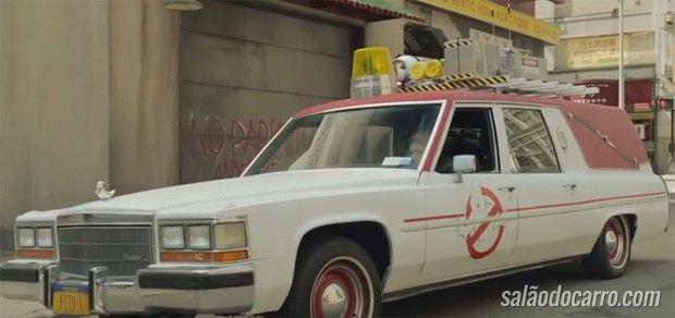 Confira os detalhes do novo carro das Caça-fantasmas