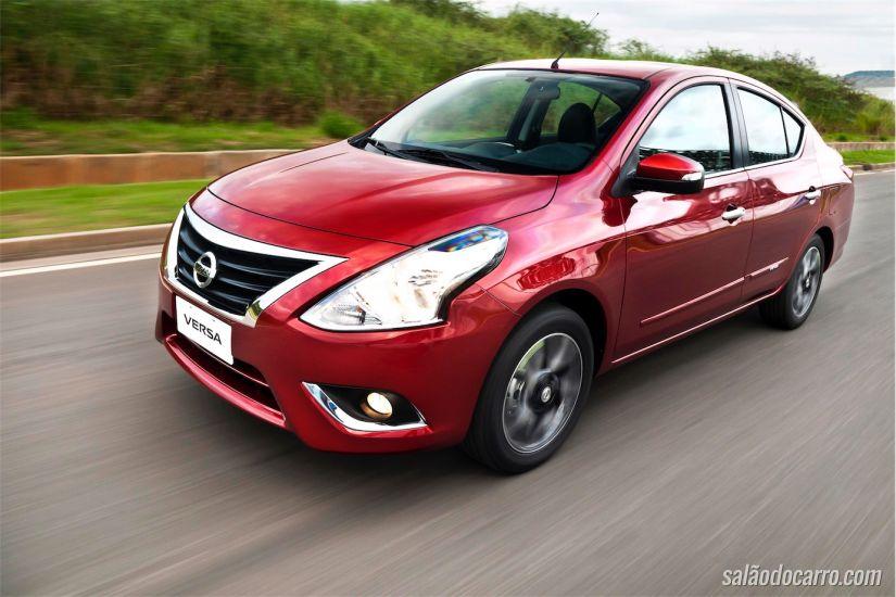 Nissan March e Versa com câmbio CVT