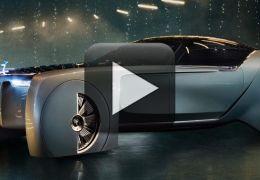Rolls-Royce mostra conceito de carro futurista