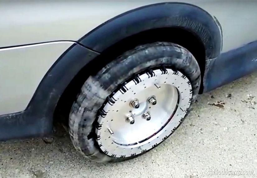 Modelo de rodas ajudam na hora da baliza