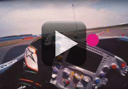 Vídeo mostra o que o piloto de F-1 vê dentro da pista