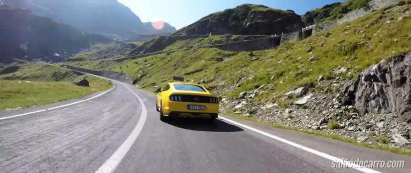 Ford divulga vídeos com melhores estradas da Europa