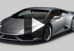 Vídeo mostra Lamborghini se chocando contra muro