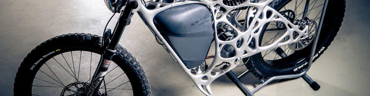 Light Rider: a primeira motocicleta impressa em 3D