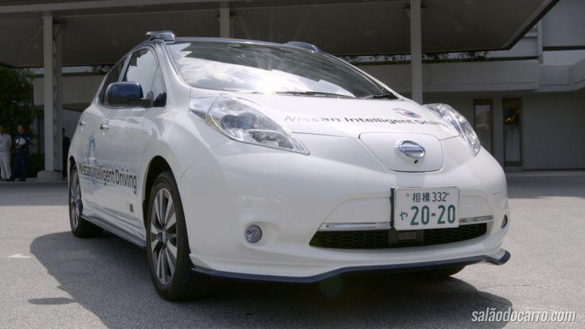 Nissan apresenta sistema Pro-Pilot