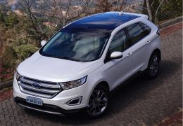 Teste do novo Ford Edge