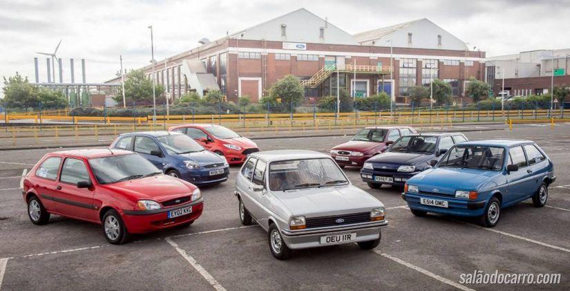 Ford lança vídeo comemorativo dos 40 anos do Fiesta