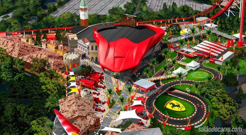 Ferrari prepara lançamento de novo parque