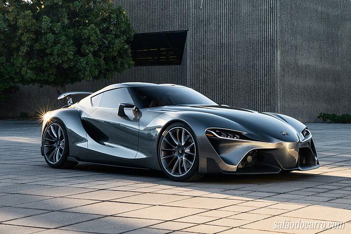 Toyota Supra deve vir com motor V6 Biturbo