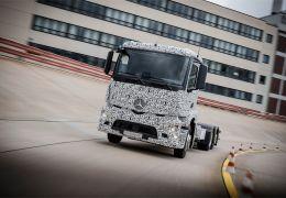 Daimler apresenta o Mercedes-Benz Urban eTruck