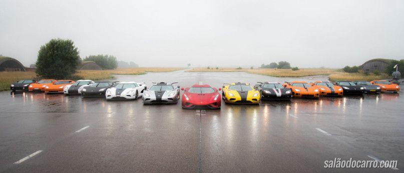 Vídeo mostra encontro de donos de Koenigsegg's