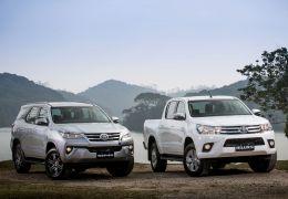 Toyota Hilux e SW4 ganham motor flex