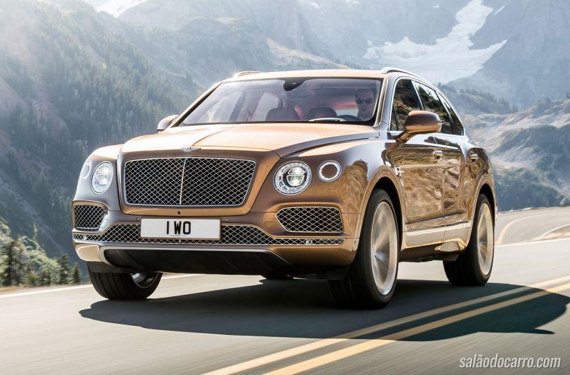 Bentley Bentayga chegará com motor a diesel