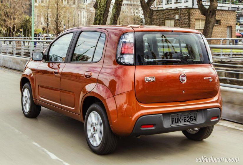 Fiat Uno receberá motor 1.0 de três cilindros