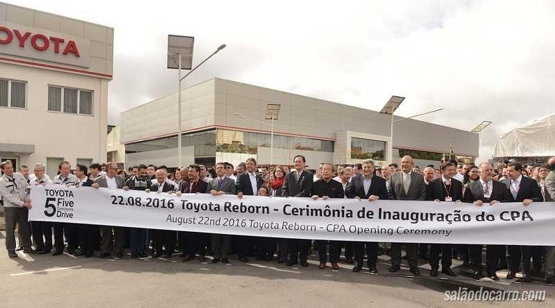 Toyota ressuscita fábrica em São Bernardo do Campo