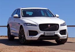 Teste do Jaguar F-Pace no Brasil