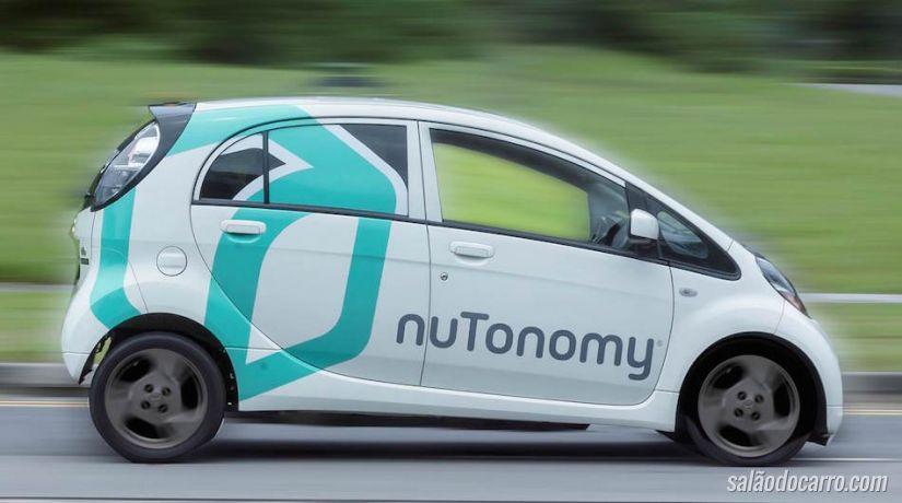 Conheça o primeiro táxi autônomo