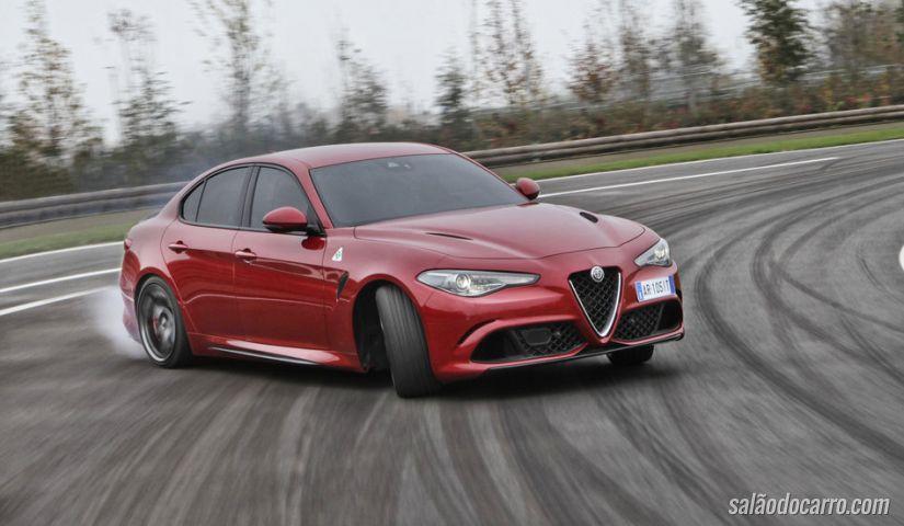Vídeo mostra Alfa Romeo batendo recorde