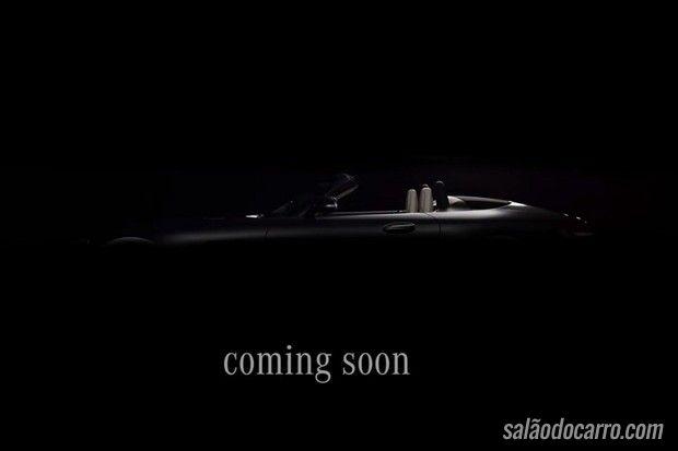 Mercedes divulga vídeo teaser de conversível AMG-GT C