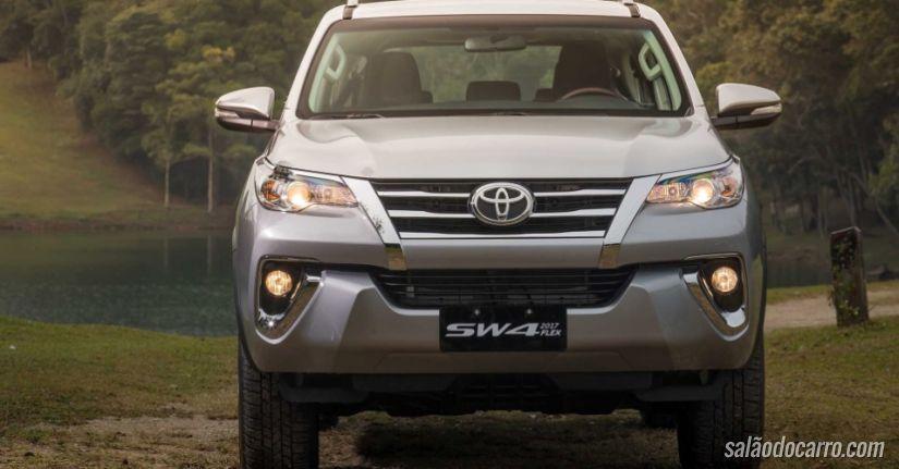 Detalhes do novo SUV da Toyota SW4