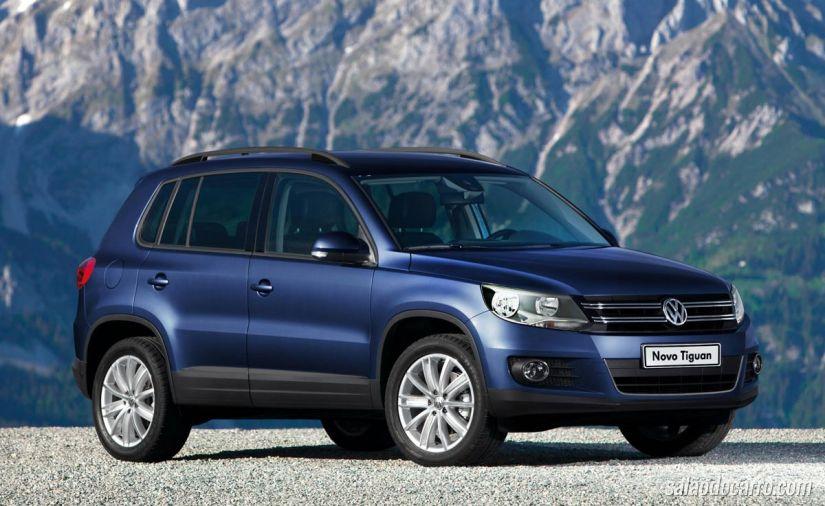 Novo Volkswagen Tiguan vem com motor 1.4