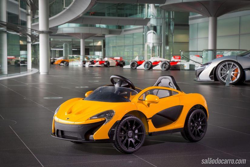 McLaren P1 volta com motor elétrico
