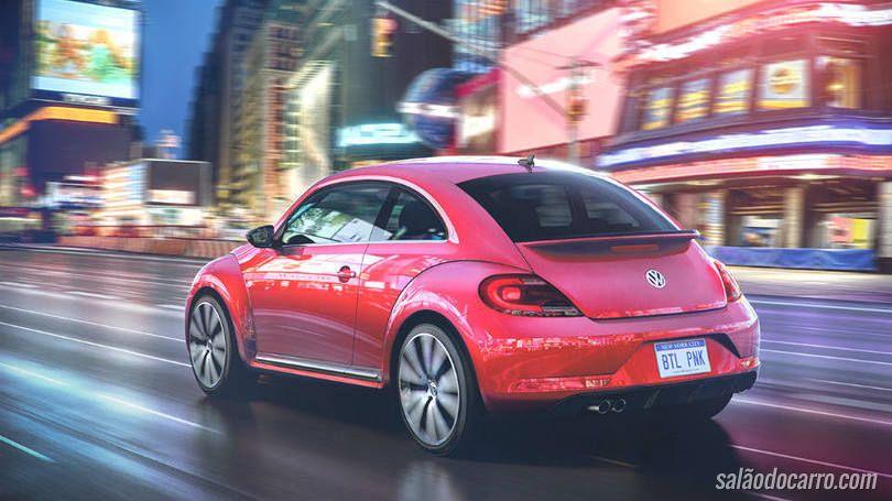 Conheça o lançamento da Volkswagen chamado #PinkBeetle