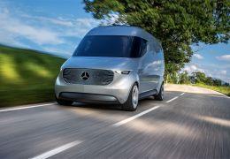 Mercedes-Benz apresenta conceito de van elétrica