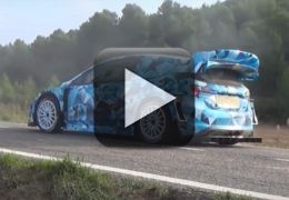 Fiesta WRC 2017 aparece realizando testes