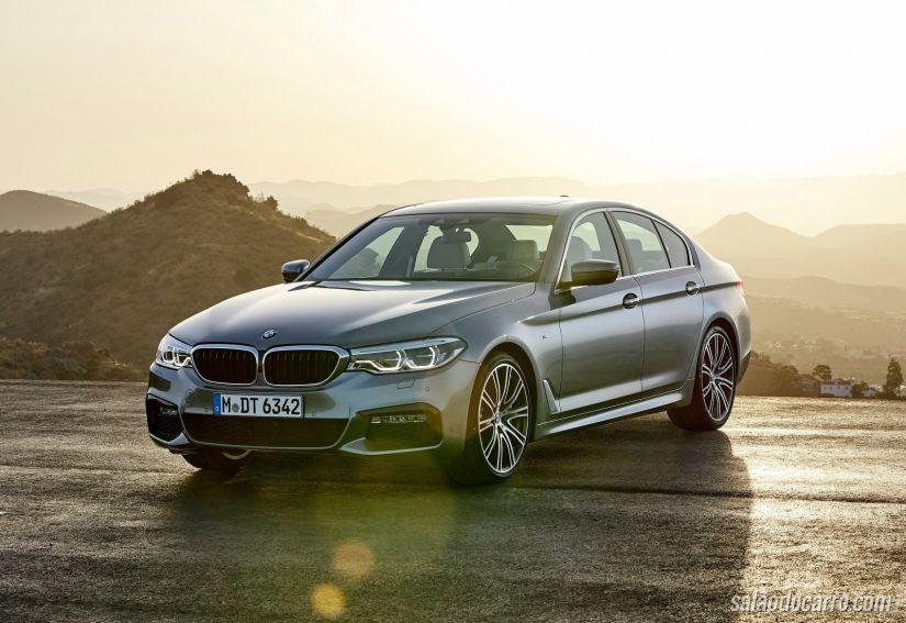 Novo BMW Série 5 é apresentado