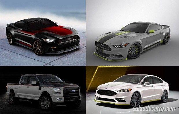 Ford apresentará versões modificadas do Mustang, Fusion e da F-150