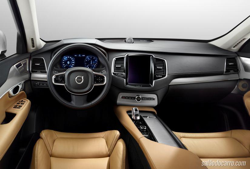 Volvo XC90 terá recall no Brasil