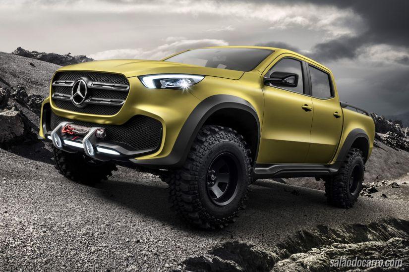 Picape de luxo: Mercedes GLT Concept será apresentada ao público no Salão do Automóvel SP